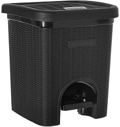 Signoraware modern dustbin for home and office
