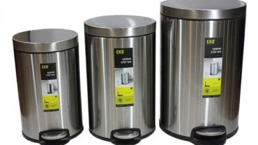 steel dustbin for home india